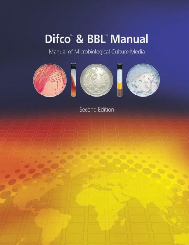 Difco Manual Difco BBL Manual Order Online