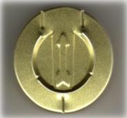 30mm Tear Off Vial Seal Gold